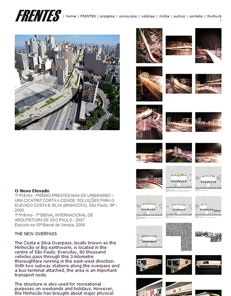1º Prêmio na 7ª Bienal Internacional de Arquitetura de São Paulo