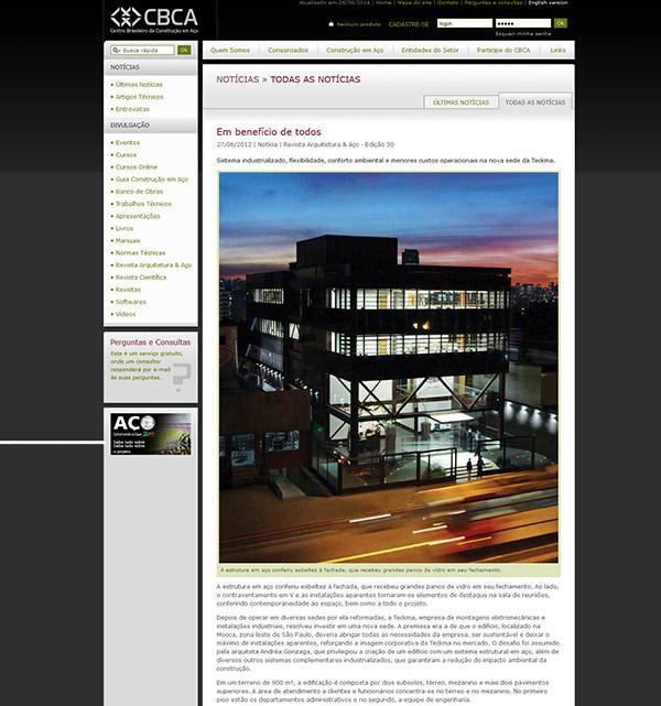 Revista Arquitetura e Aço